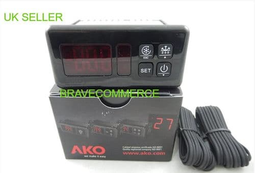 AKO D-14323 230v Industrial Digital Thermostat Controller for Freezers